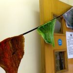 Felted bunting