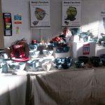 Wendy's Yarn Bowls' stall
