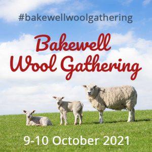Badge with Bakewell Wool Gathering logo